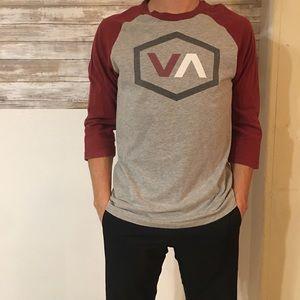 3 quarter length sleeves RVCA